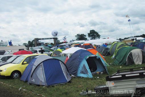 Zelte auf Wacken