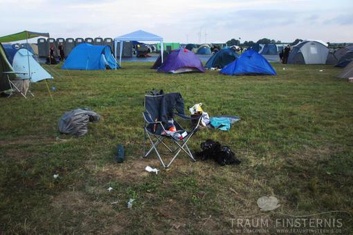 Der Campingstuhl